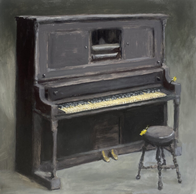 Piano and Finches