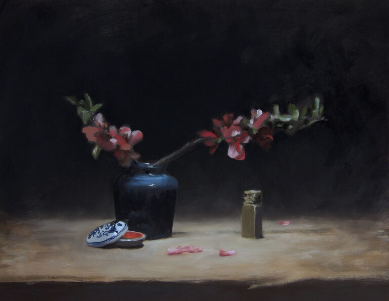 Still Life with Quince and Chop