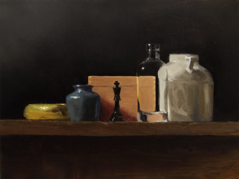 Still Life with King and Box