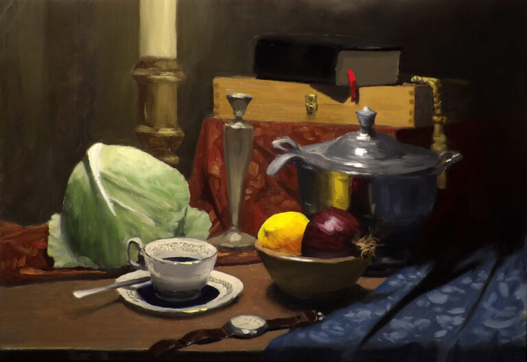 Still Life with Cabbage